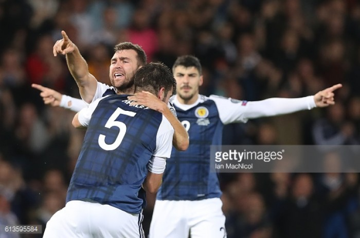 Scotland 1-1 Lithuania: McArthur spares Scotland's blushes against minnows Lithuania