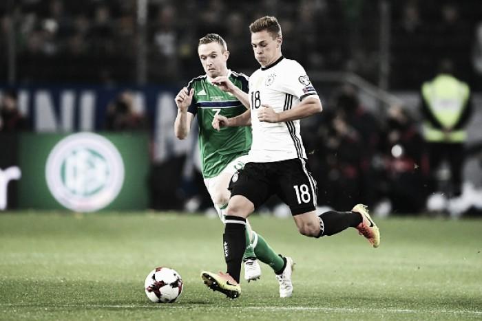Inglaterra junta-se à Alemanha rumo ao Mundial 2018