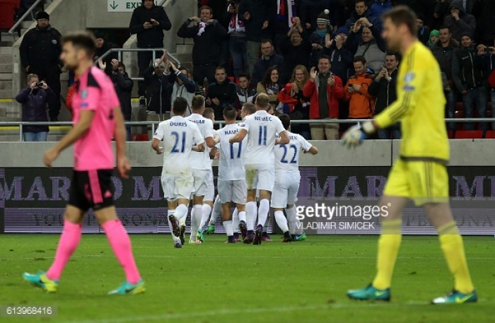 Slovakia 3-0 Scotland: Mak's stunning display downs Scotland