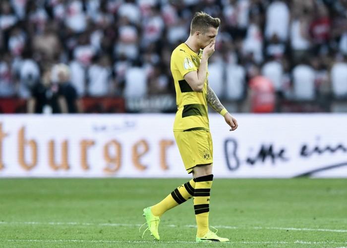 """Marco Reus lamenta nova lesão séria: """"Abdicava do dinheiro que tenho para não ter mais lesões"""""""
