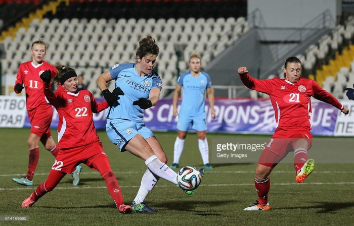 UEFA Women's Champions League - Zvezda Perm (0) 0-4 (6) Manchester City: Citizens conquer Russians