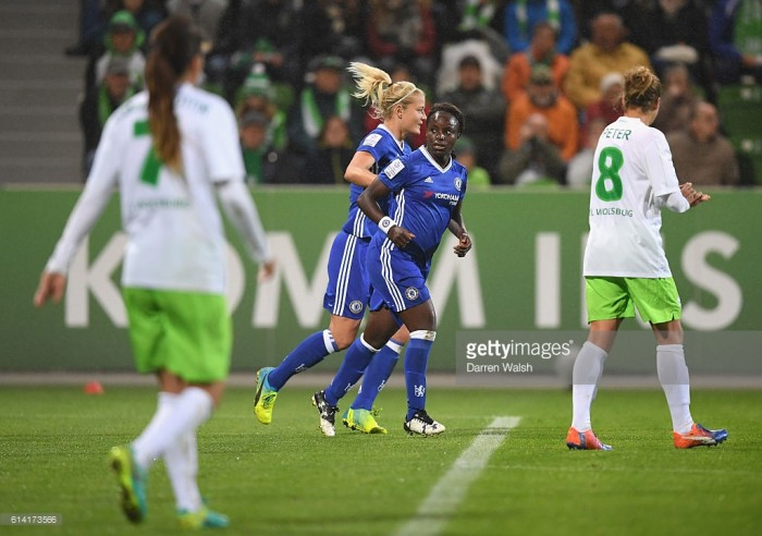 UEFA Women's Champions League – VfL Wolfsburg (4) 1-1 (1) Chelsea: Bitty draw enough for the hosts