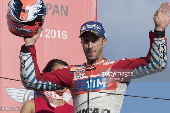 Dovizioso takes second in the Motul Grand Prix of Japan