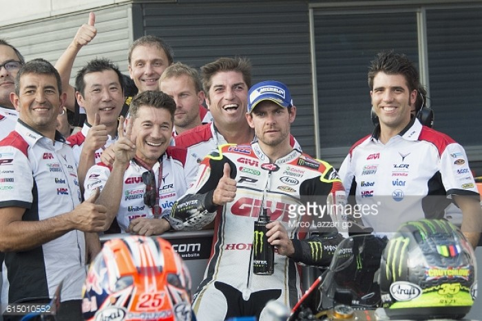 Crutchlow the top independent team rider finishing fifth in Motegi