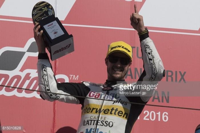 Luthi, Zarco and Morbidelli discuss podium success in Motegi