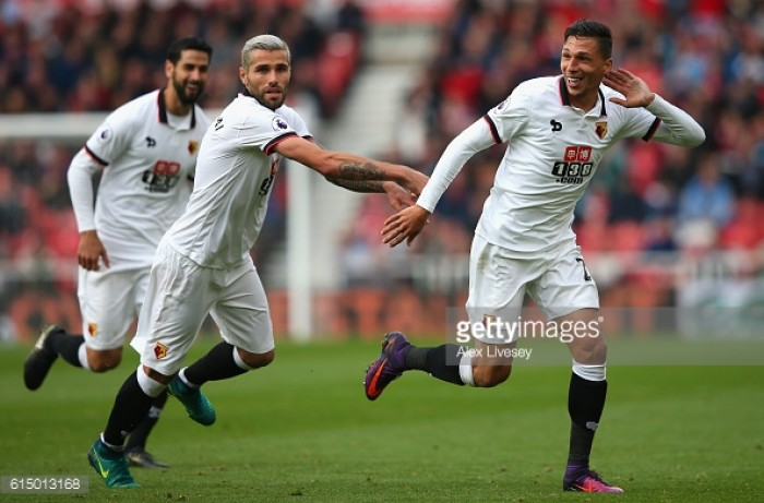 Jose Holebas enjoying a new lease of life under Watford boss Mazzarri