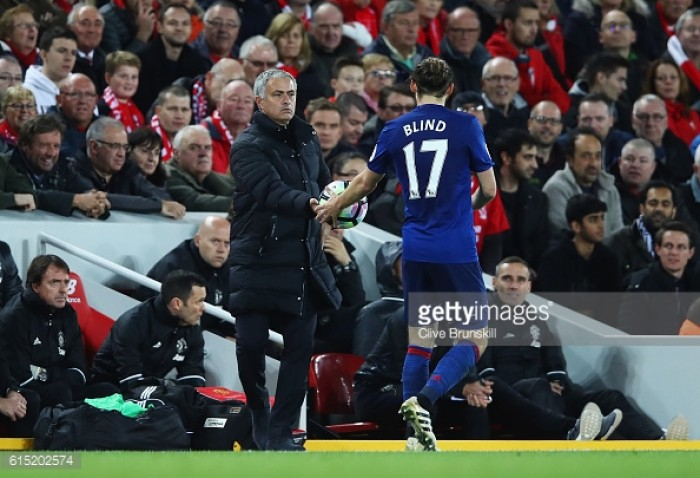 Mourinho has same work ethic as Van Gaal but philosophies are different, says Blind