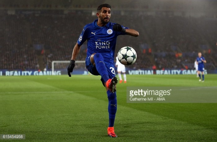 Leicester 1-0 FC Copenhagen: Mahrez sends the Foxes within touching distance of the knockout stages