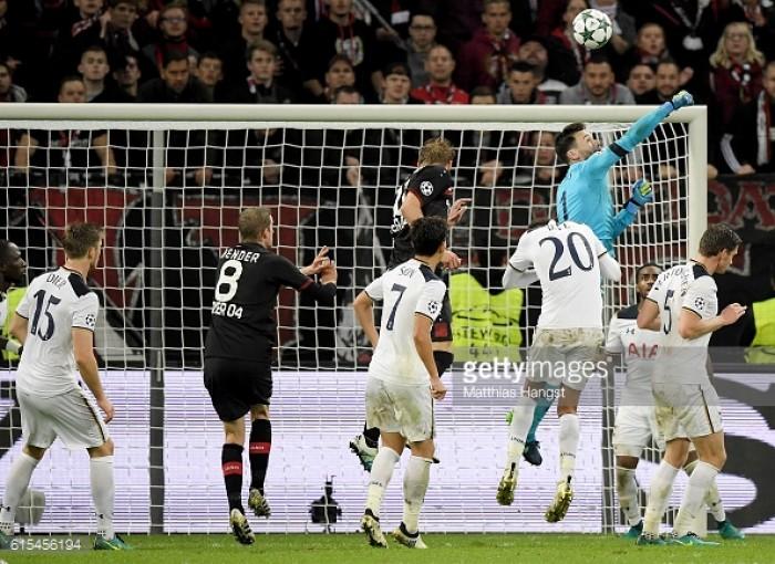 Bayer Leverkusen 0-0 Tottenham Hotspur: Lloris wonder save ensures spoils are even in intriguing contest