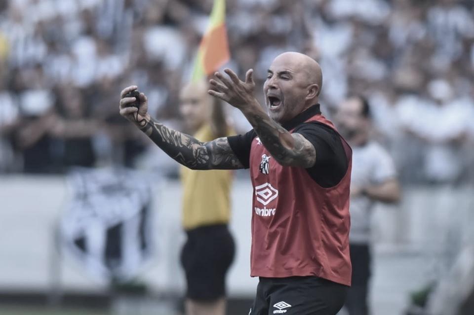 Mesmo com vitória do Santos, Sampaoli mostra irritação por não poder escalar Rodrygo