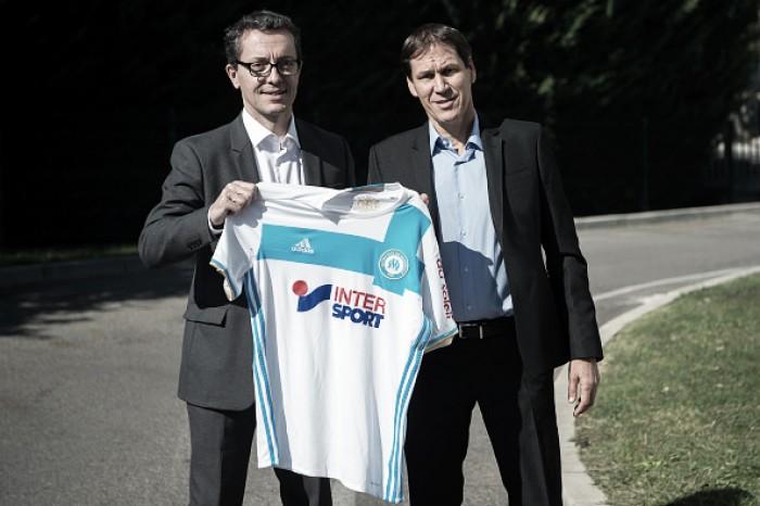 Rudi Garcia chega ao Olympique Marseille e visa levar clube novamente à Champions League