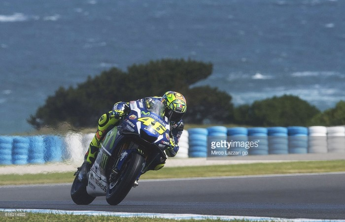 Rossi makes up for bad result in Motegi by finishing second in Phillip Island
