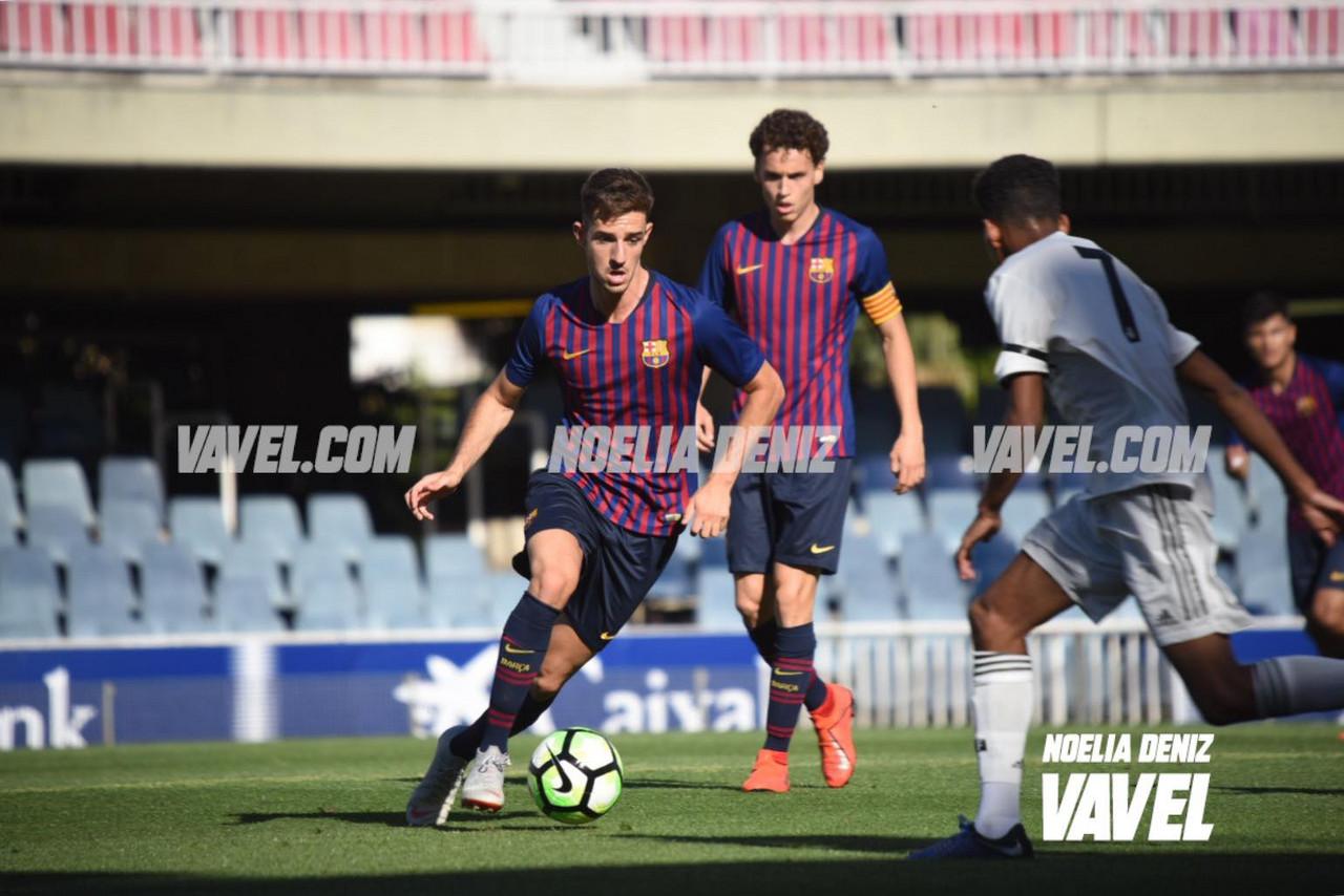 El Madrid golpea primero en el Clásico de Juveniles