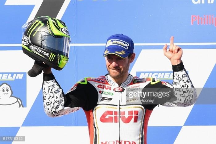 Second win of MotoGP season for Cruthlow in Phillip Island