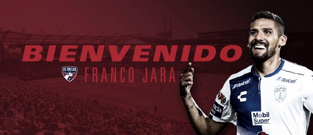 FC Dallas se refuerza con Franco Jara
