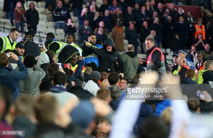 Arsenal boss Arsene Wenger blasts West Ham supporters over crowd violence