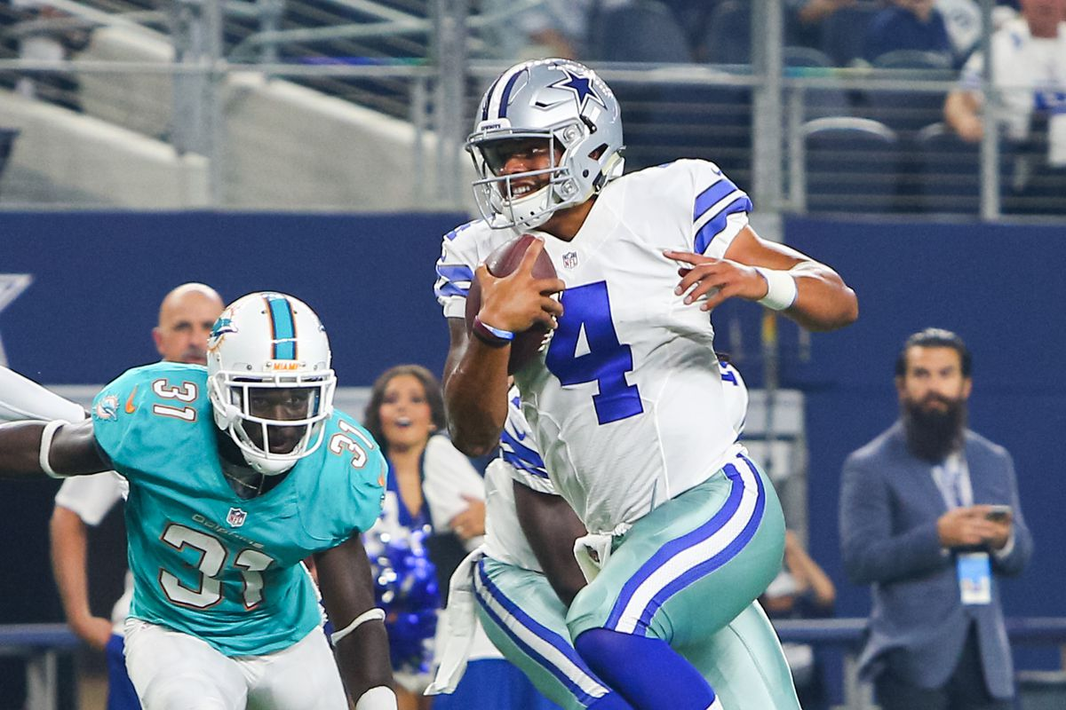 Miami Dolphins vs Dallas Cowboys en vivo cómo ver transmisión TV online en NFL 2019 (0-0)