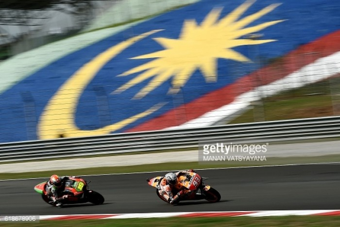 Marquez quickest in Sepang after MotoGP Free Practice
