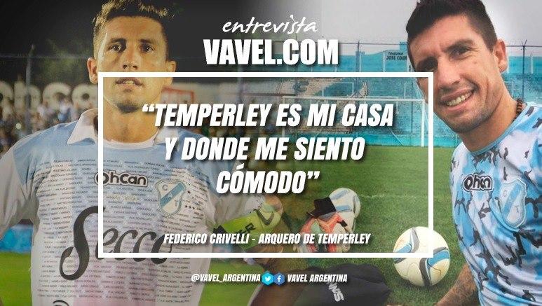 """Entrevista. Federico Crivelli: """"Sería lindo repetir lo del 2014, fue hermoso para nosotros como para los hinchas"""""""
