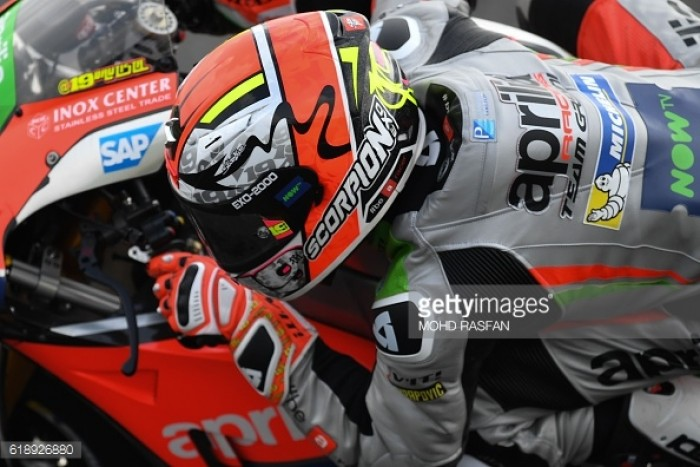 Bautista matches Aprilia's best result finishing 7th in Sepang