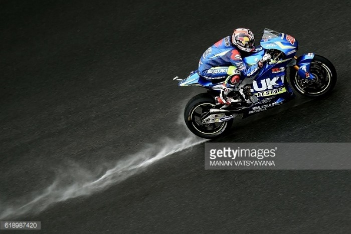 Suzuki still looking to improve in the wet