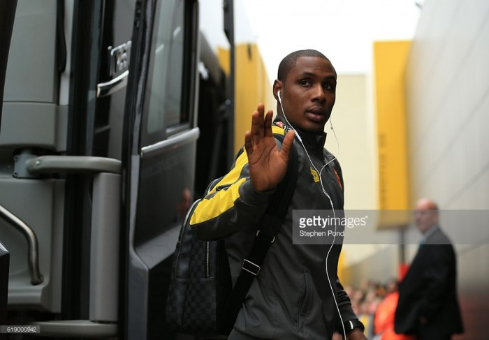 Ighalo excluded from Mazzarri's new formation?