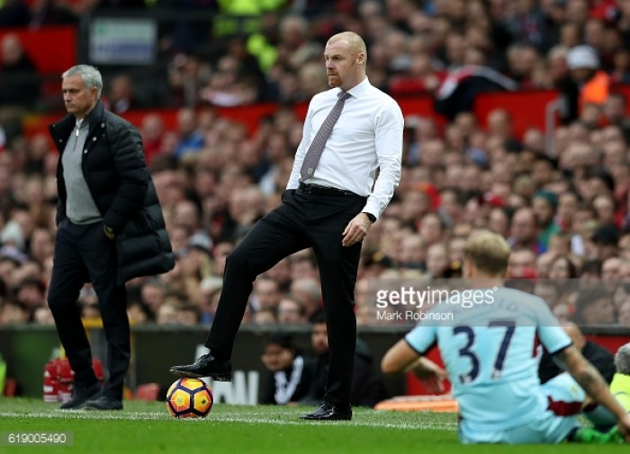 "Dyche expresses his intention for Burnley ""to get something from every game"""