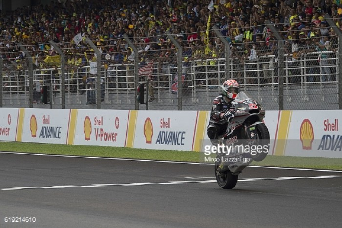 Zarco wins in Sepang, securing the 2016 Moto2 championship in the process