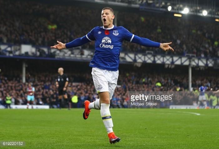 Everton 2-0 West Ham United: Lukaku and Barkley strike against hapless Hammers