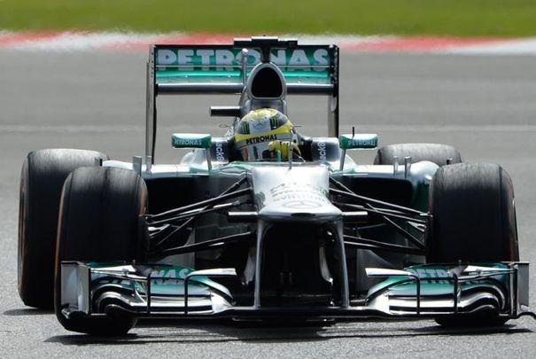 F1 : Rosberg met la gomme à Silverstone