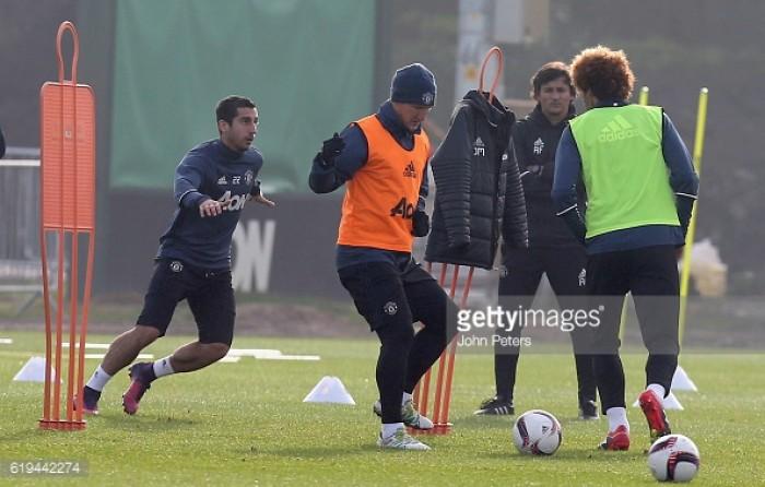 "Mourinho explains multiple reasons for Schweinsteiger return to training; ""a human decision"""