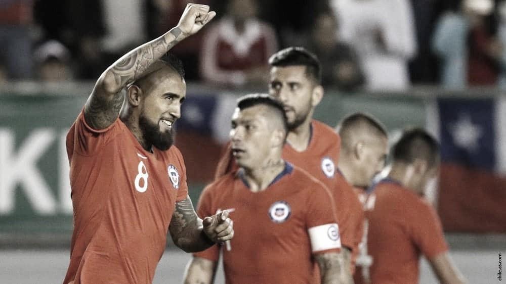 Chile cierra su preparación contra Haití