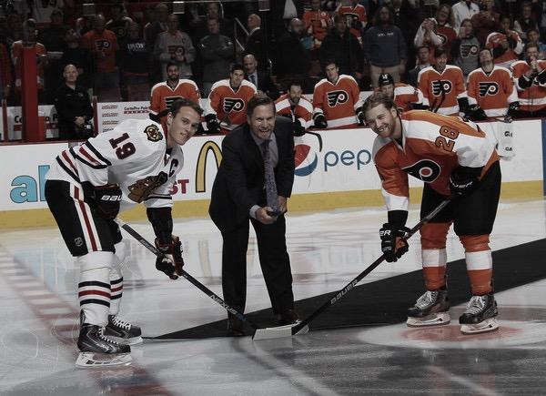 Giroux y Toews alcanzan los 800 puntos en la NHL