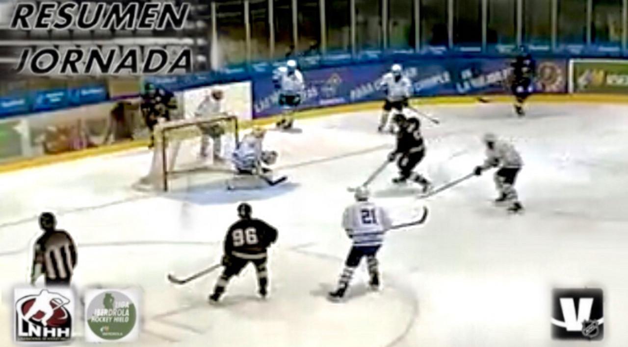 Gol de Jordan Buesa (imagen captada de la retransmisión en streaming)