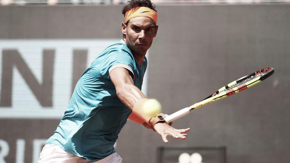 Nadal vence Tsitsipas na semifinal do Masters 1000 de Roma (2-0)