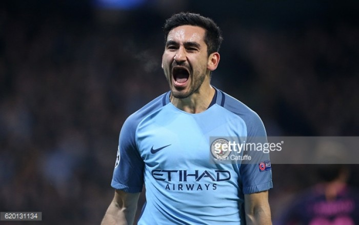 """İlkay Gündoğan """"can't wait"""" for Manchester City return after long-term knee injury"""
