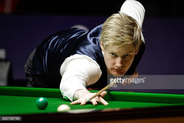 Masters Round Up Day Three: Fu and Robertson progress as the high quality snooker continues