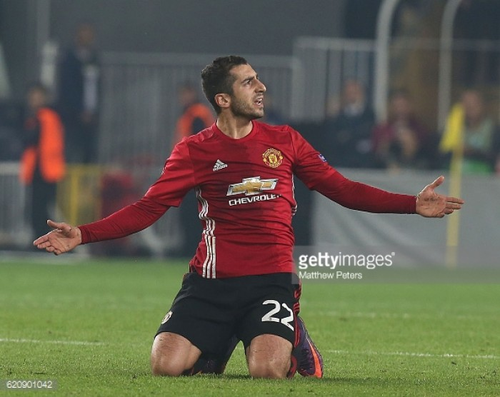 Jose Mourinho insists that Henrikh Mkhitaryan needs to do more after Fenerbahce defeat