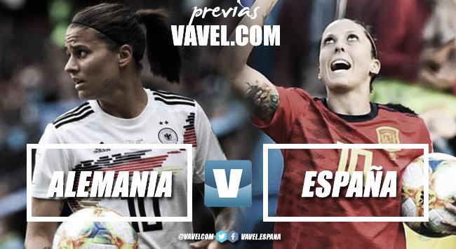 Previa Alemania-España: batalla por la primera plaza