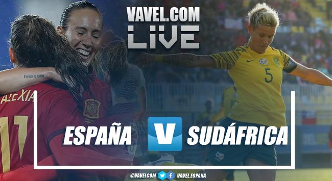 Resumen España vs Sudáfrica en el Mundial Femenino FIFA 2019 (3-1)