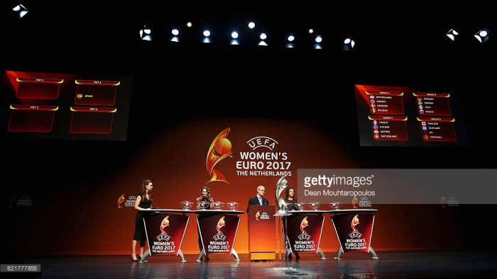 Euro 2017 draw takes place in Rotterdam