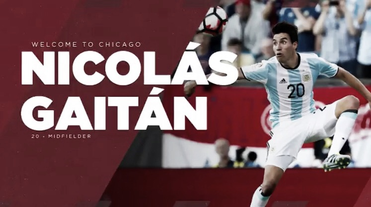 Chicago Fire firma a Nico Gaitán