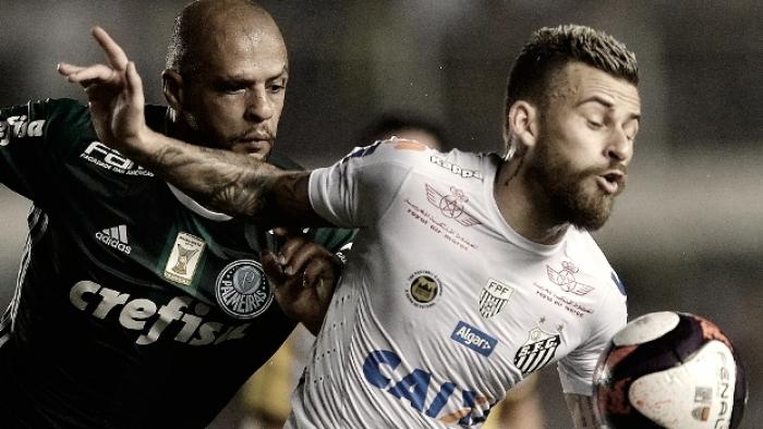 Previa Palmeiras - Santos: Clássico da Saudade por la segunda plaza