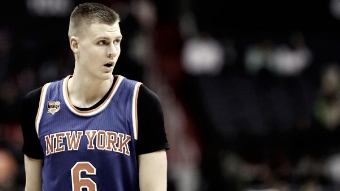 Knicks recebem ligações e não descartam possibilidade de negociar Porzingis