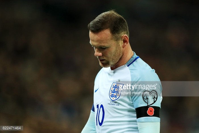 Manchester United captain Wayne Rooney withdraws from England squad due to injury