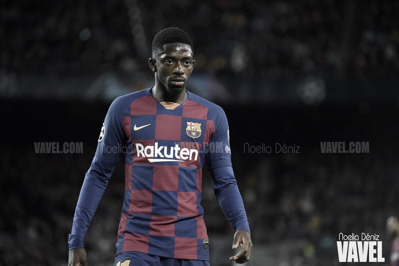 Dembélé, novedad en la convocatoria del Barcelona