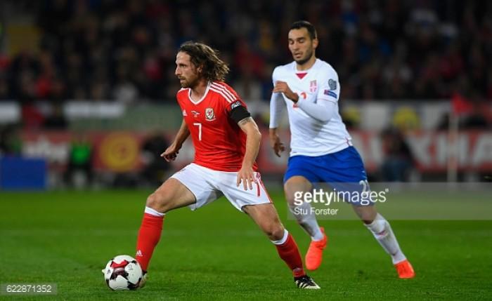 Stoke City's Joe Allen shines in deeper role as Wales draw