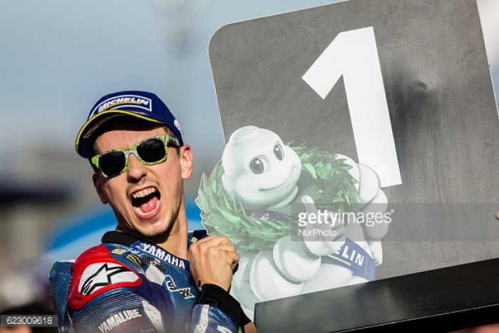 Lorenzo wins his last ever race with Movistar Yamaha at the MotoGP season finale in Valencia