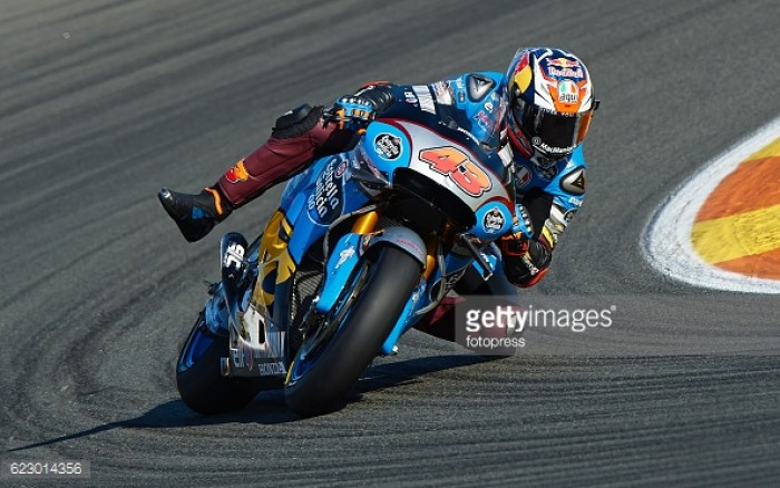Positive end to 2016 for the Estrella Galicia 0,0 Marc VDS MotoGP team