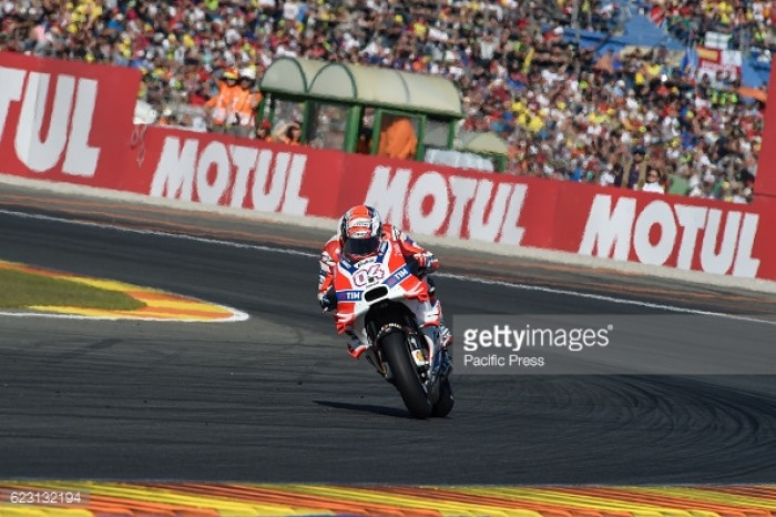 Dovizioso the top Ducati in the 2016 MotoGP Championship